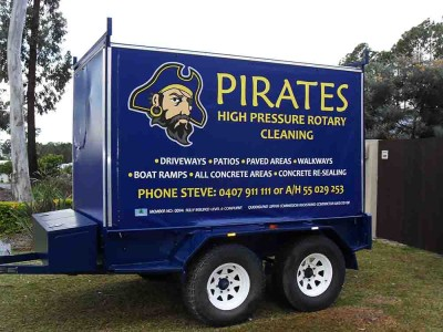 19. Pirates High Pressure Cleaning